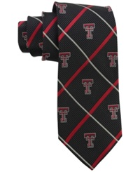 Eagles Wings Texas Tech Red Raiders Necktie Red Black