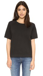 Sincerely Jules Cara Short Sleeve Sweatshirt Black
