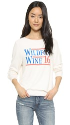 Wildfox Couture Wildfox Wine 2016 Sweatshirt Vintage Lace