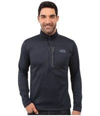 The North Face Canyonlands 1 2 Zip Pullover Urban Navy Heather Men's Sweatshirt Gray