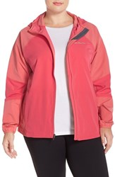 Plus Size Women's Columbia 'Sweet As Softshell' Hooded Jacket