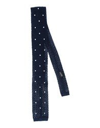Baldessarini Accessories Ties Men Dark Blue