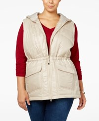 Styleandco. Style Co. Plus Size Hooded Puffer Vest Only At Macy's Pure Cashmere