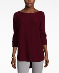 Charter Club Petite Cashmere Boat Neck High Low Sweater Only At Macy's Cc Crantin