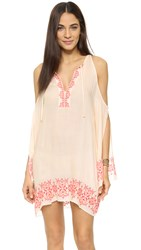 Tt Beach Isabel Embroidered Cover Up Blush