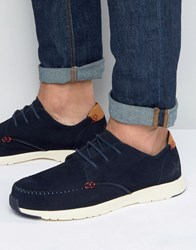 Lyle And Scott Gala Trainers Blue Navy