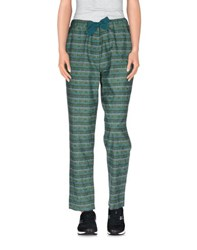 Tela Trousers Casual Trousers Women Emerald Green