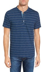 Faherty Men's Stitched Henley T Shirt
