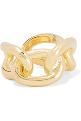 Jennifer Fisher Small Chain Link Gold Plated Ring
