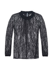 Raquel Allegra Long Sleeved Lace Top