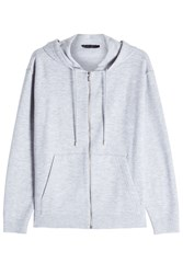 Calvin Klein Collection Cashmere Hoody Grey