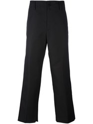 Golden Goose Deluxe Brand Wide Leg Trousers Black