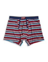 Original Penguin Stretch Striped Boxers Red
