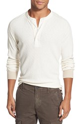 Men's Eddie Bauer 'Woodside Ilaria Urbinati Collection' Trim Fit Henley Thermal Ivory