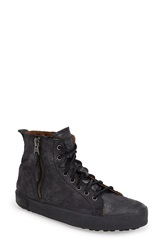 Blackstone 'Jl' High Top Sneaker Women Black Metallic