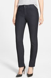 Nydj Women's 'Sheri' Skinny Stretch Jeans Dark Enzyme