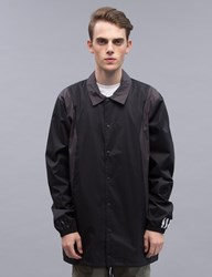 White Mountaineering Adidas Originals X Wm Long Bench Jacket
