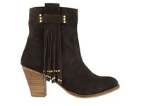 Gioseppo Shelby Ankle Boots Chocolate