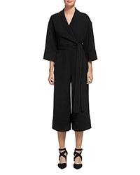 Whistles Ruby Belted Jumpsuit Black