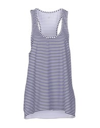 Individual Topwear Vests Women Dark Blue