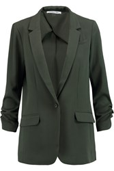 Elizabeth And James Jamie Crepe Blazer Green