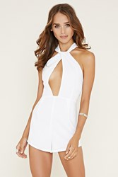 Forever 21 Cutout Front Romper