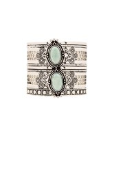Samantha Wills Bohemian Moon Cuff Metallic Silver