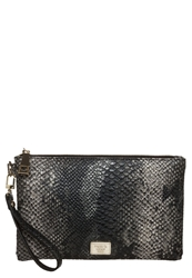 Marc B Leanne Clutch Black Snake