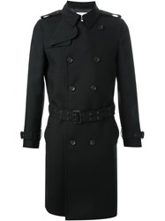 Hl Heddie Lovu Double Breasted Trench Coat Black