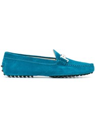 Tod's 'Gommino' Loafers Blue