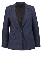 Banana Republic Blazer Navy Blue Dark Blue