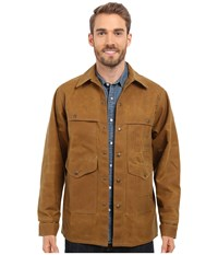 Filson Tin Cruiser Extra Long Tan Men's Coat
