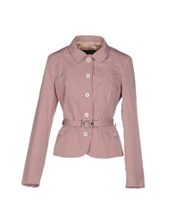 Massimo Rebecchi Suits And Jackets Blazers Women Pastel Pink