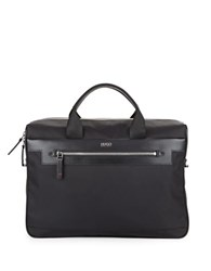 Hugo Boss Nylon Brief Case Black