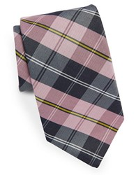 Brooks Brothers Classic Plaid Tie Red