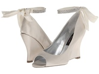 Nina Emma Ivory Women's Wedge Shoes White