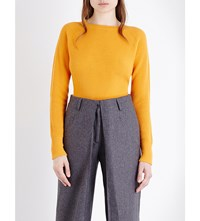 Aalto Ribbed Cashmere Jumper Yellow