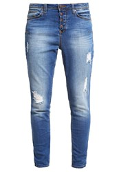 Tom Tailor Relaxed Fit Jeans Mid Stone Wash Denim Blue Denim