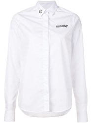 Each X Other Concealed Fastening Shirt White