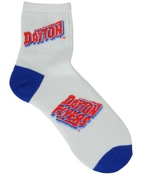 For Bare Feet Dayton Flyers Ankle White 501 Socks
