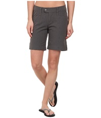 Royal Robbins Embossed Discovery Short Obsidian Women's Shorts Brown