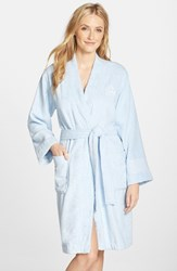 Lauren Ralph Lauren Women's Cotton Terry Robe Estate Blue