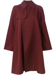 Jean Paul Gaultier Vintage A Line Trench Coat Red