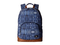 Volcom Schoolyard Canvas Backpack Midnight Blue Backpack Bags