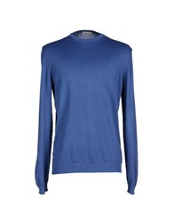 Bellwood Knitwear Jumpers Men Blue