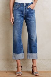 Anthropologie Citizens Of Humanity Parker Relaxed Cuffed Crop Jeans Anberlin 28 Pants