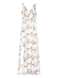 Nina Ricci Floral Embroidered Tulle Gown