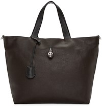 Alexander Mcqueen Brown Hold All Tote