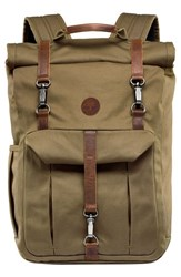 Timberland Men's 'Walnut Hill' Canvas Backpack Green Military Olive