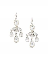 Lydell Nyc Mixed Crystal Dangle Earrings